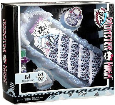 Monster High Abbey Bominable Bed Play Set by Mattel
