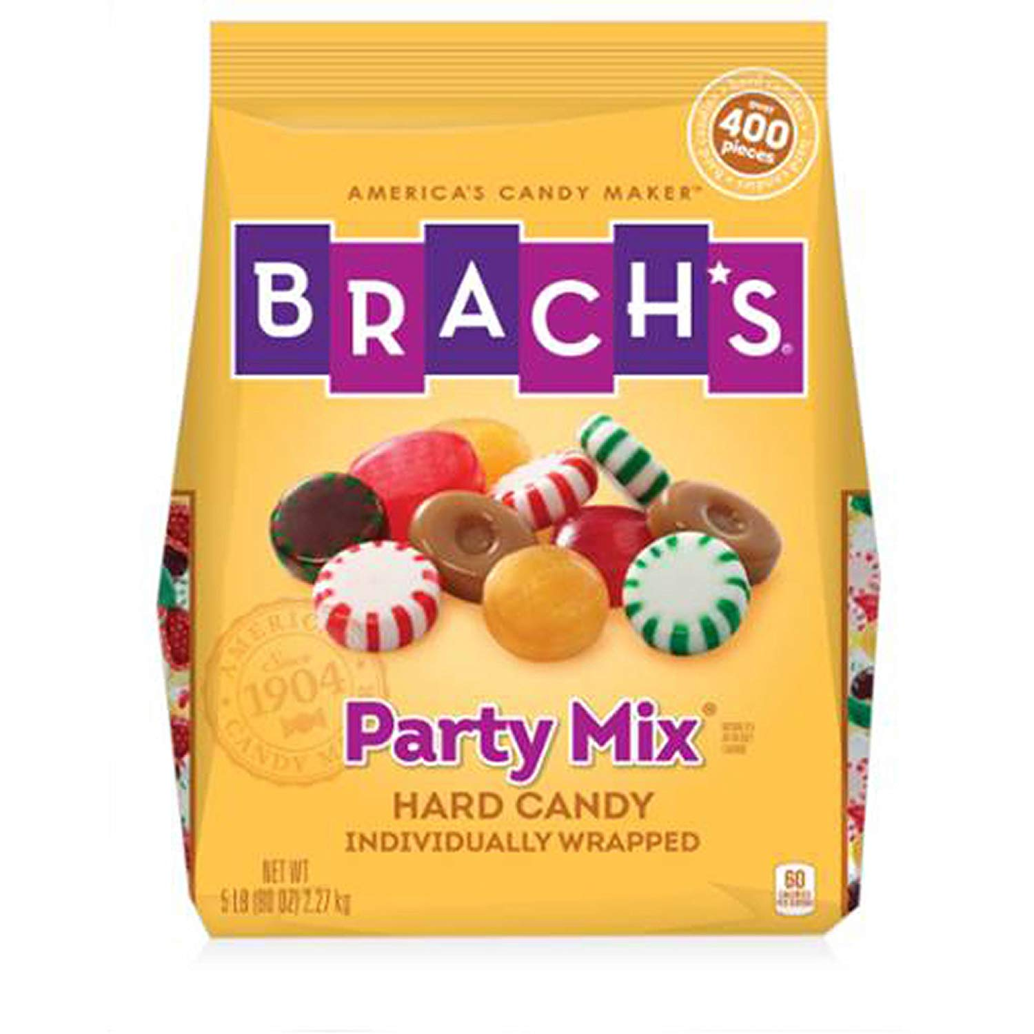 Brach's, Party Mix Individually Wrapped Hard Candies, 5 Lb