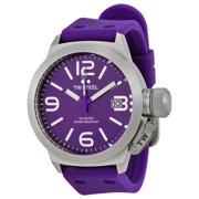 Canteen Purple Dial Purple Silicone Mens Watch TW515