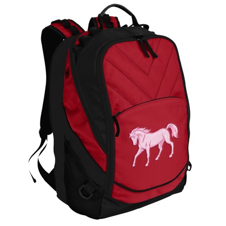 Horse Backpack Horse Theme Backpack or School Bag PADDED for COMPUTERS and - Horse Themed School Supplies