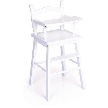 Doll High Chair White Walmart Com