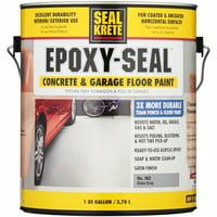 Seal Krete Epoxy-Seal Slate Gray Concrete & Garage Floor Paint, 1 gal