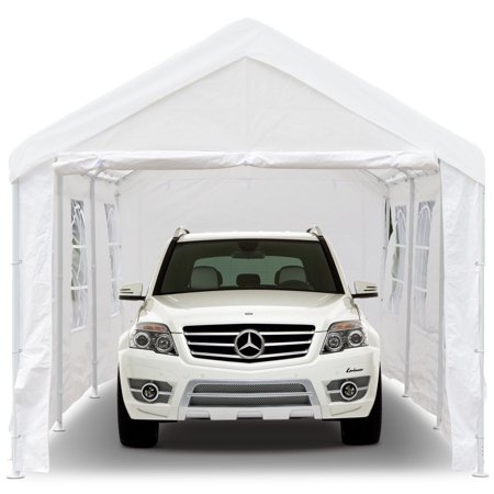 Gymax 10' x 20' Heavy Duty Party Wedding Tent Car Carport ...