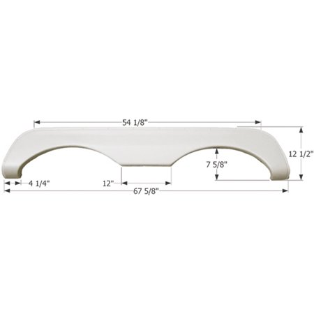 Icon Technologies Tandem Mckenzie Fs769 Rv Fender Skirts