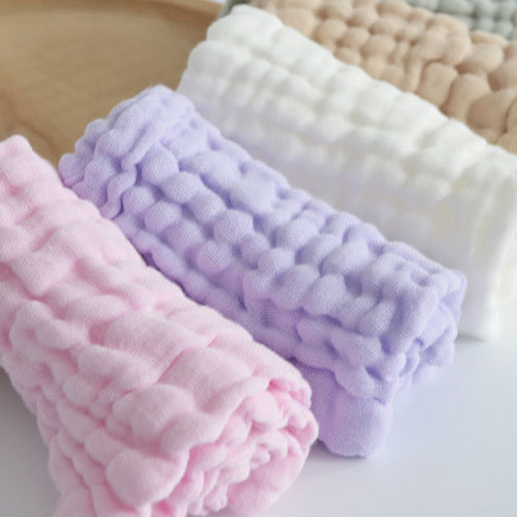 Baby Infant Newborn Soft  Cotton  Feeding Wipe Cloth Gauze Washcloth Bath Towel