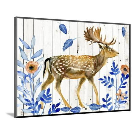 Dear Deer I Wood Mounted Print Wall Art By Melissa Wang