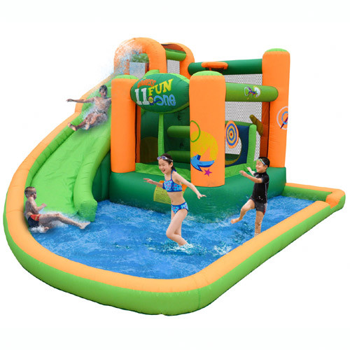 Kidwise Endless Fun 11-in-1 Inflatable Water Bounce House
