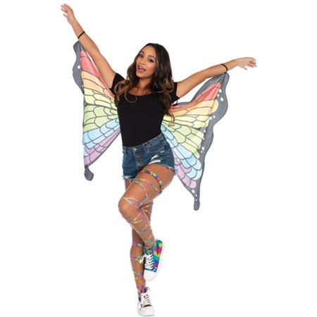 Morris UAA2789 Rainbow Butterfly Wings Adult, One Size - image 1 of 1
