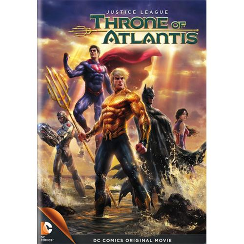 Justice League DC Universe: Justice League: Throne of Atlantis (Other)