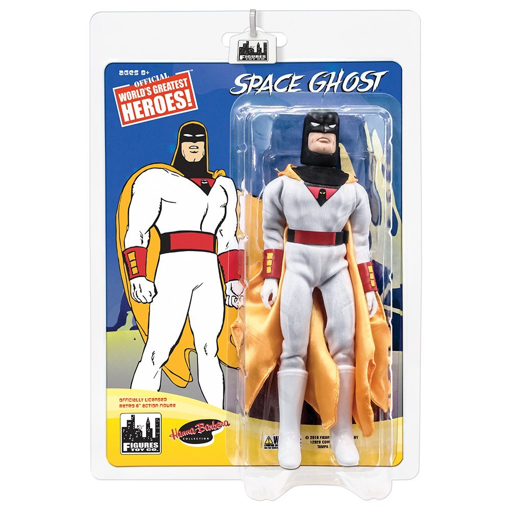 Space Ghost Retro 8 Inch Action Figures Series: Space Ghost by Figures Toy Company