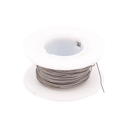 Unique Bargains 10M 32.8ft 0.4mm 26AWG Cable Titanium Heater Wire for Heating Elements