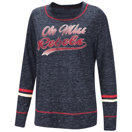 2e9bd466 Ole Miss Rebels Colosseum WOMEN'S Navy Giant Dreams Soft LS T-Shirt