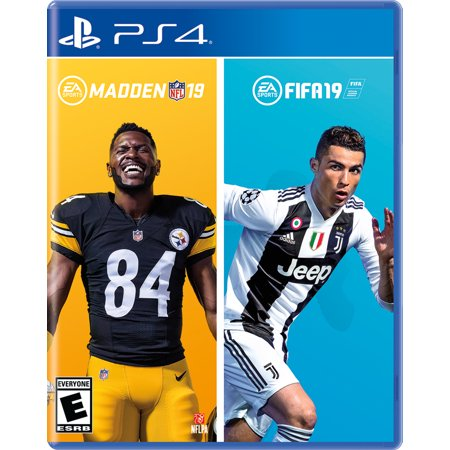 Madden NFL 19 / FIFA 19 Bundle, Electronic Arts, PlayStation 4, 014633375442