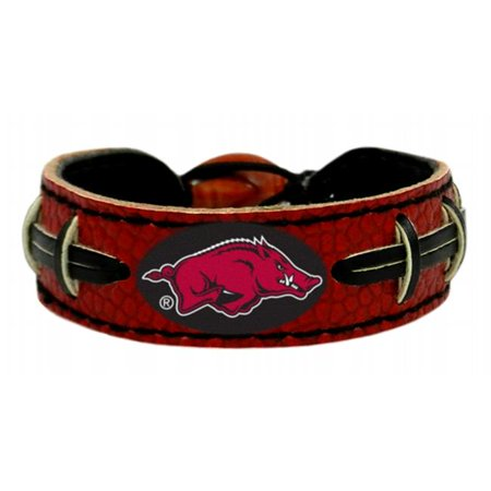 Arkansas Razorbacks Team Color Football Bracelet - image 1 of 1