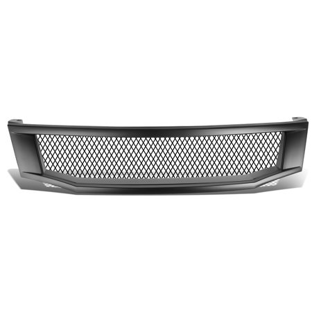 For 2008 to 2010 Honda Accord 4DR Type -R Style ABS Plastic Aluminum Mesh Front Grille (Black) - 8th Gen CP CS 09 ()