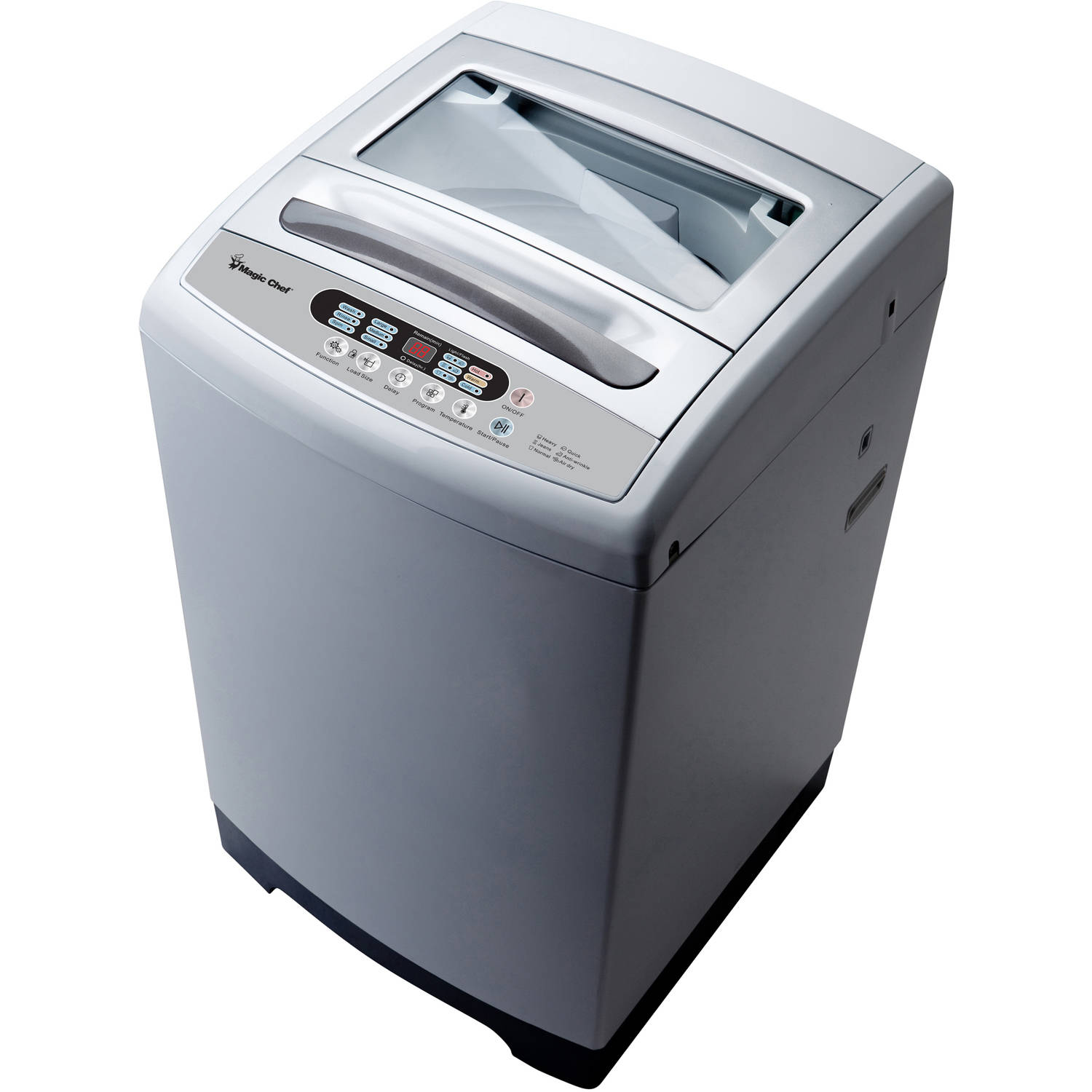 Magic Chef 2.1 cu ft Topload Compact Washer, White