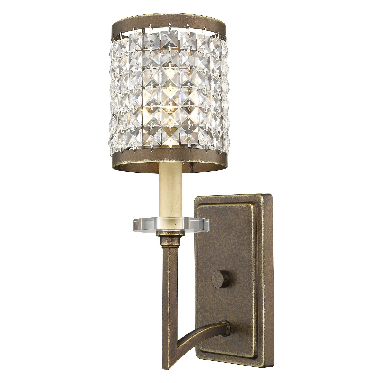 Livex Lighting Grammercy 1 Light Wall Sconce