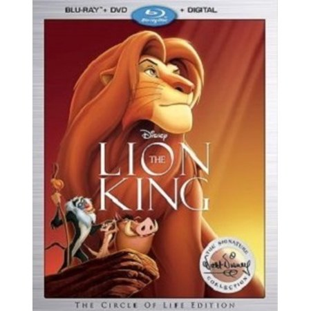 The Lion King Signature Collection (Blu-ray + DVD + Digital (The Man With The Golden Arm Kung Fu)