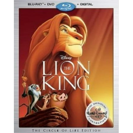 The Lion King Signature Collection (Blu-ray + DVD + Digital - Larry The Lion