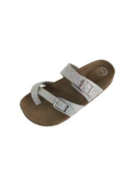 83c0c658a1ef Product Image Girls Wonder Nation Sandal Footbed Slide