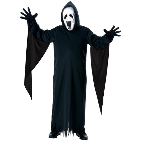 Screaming Ghost Kids Costume - Diy Kids Ghost Costume