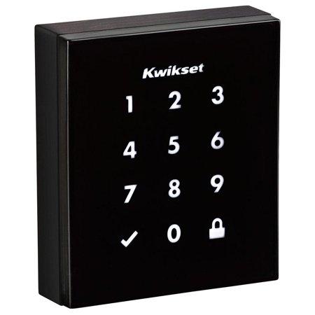 Kwikset Obsidian Venetian Bronze Keyless Electronic Touchscreen Deadbolt (New Open Box)