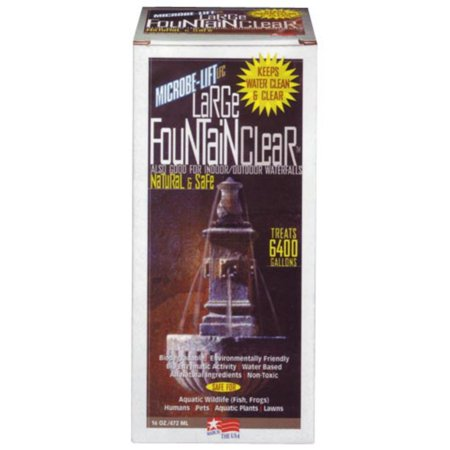 Large Water Fountain Clear - 16 oz.