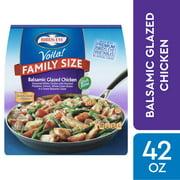 Birds Eye Voila! Family Size Balsamic Glazed Chicken, Frozen Meal, 42 OZ