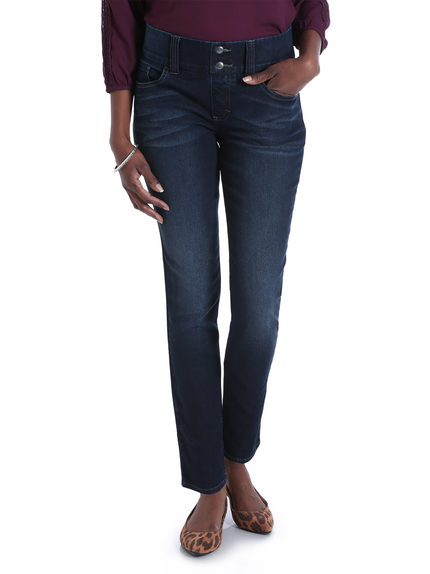 Riders by Lee Women's Waist Smoother Skinny Jean