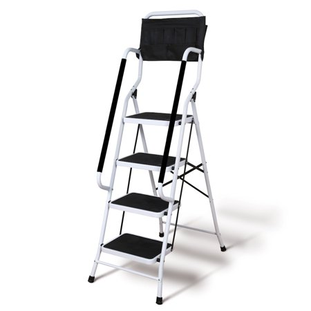 Support Plus Folding 4 Step Safety Step Ladder Step