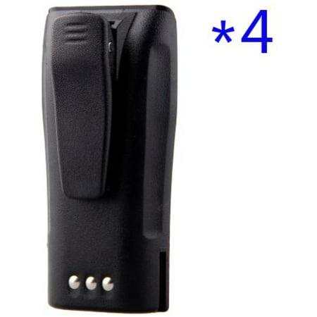 TOPCHANCES 4 Pack 7.2V 2000mAh NNTN4496 NNTN4851A Li-ion Battery for Motorola