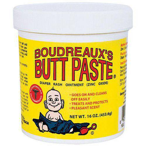 Boudreaux's Butt Paste Diaper Rash Ointment, Original, 16 Oz