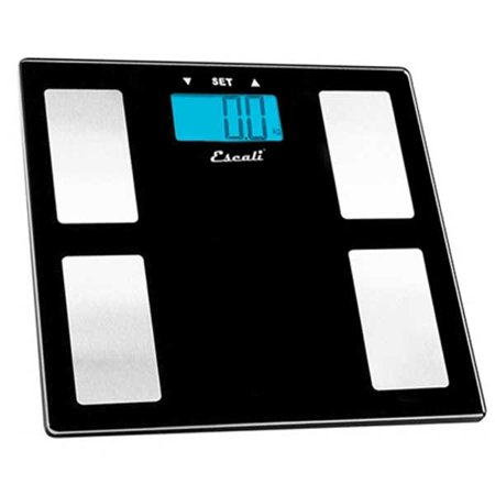 - Escali Glass body Fat Water Muscle Mass Scale