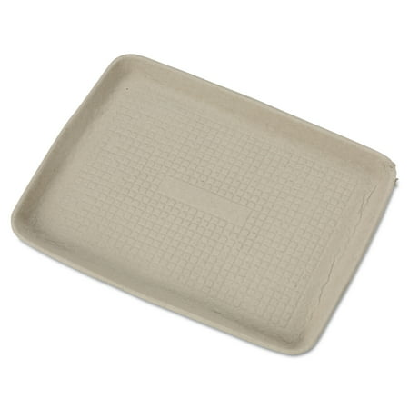 Molded Cargo Area Tray - Chinet StrongHolder Molded Fiber Food Trays, (Pack of 250)