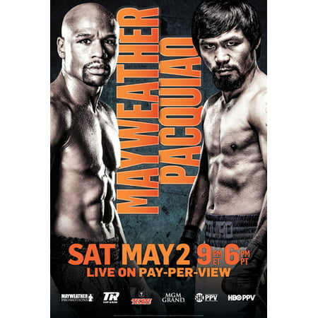 Floyd Mayweather vs. Manny Pacquiao Promo Poster 11x17 Mini Poster