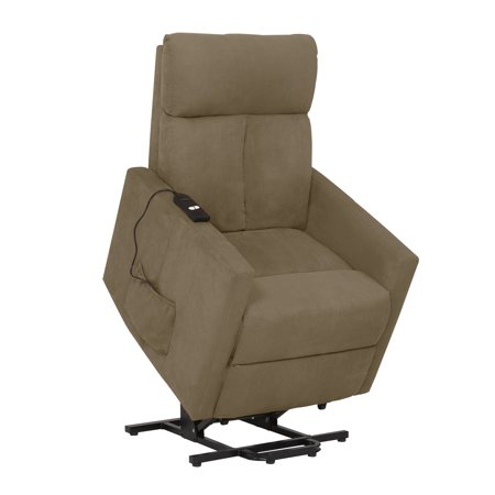 ProLounger Power Lift Chair Microfiber Recliner, T-Back, Multiple