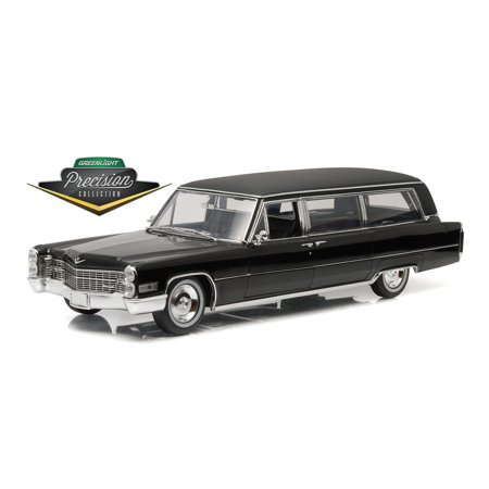 GREENLIGHT 1:18 PRECISION COLLECTION - 1966 CADILLAC S AND S LIMOUSINE PC-18002 (Cadillac Presidential Limousine)