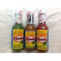 El Yucateco - Sauce Sampler - Red Habanero, Green Habanero, and Xxxtra Hot Haban