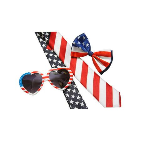 USA American Flag Patriotic Combo Kit,  Lolita Attire Kit