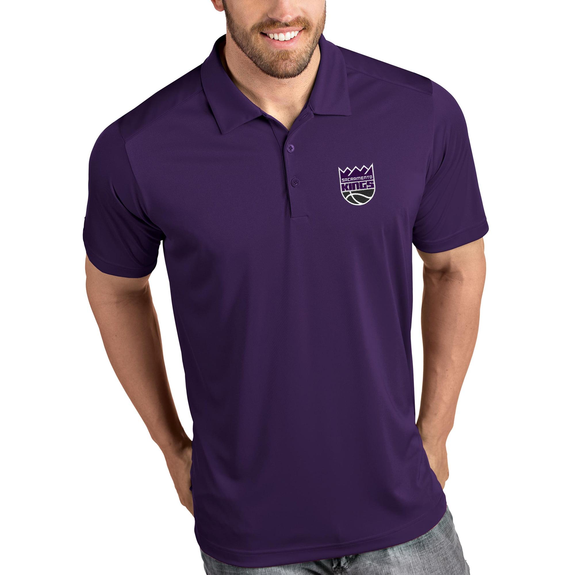 Sacramento Kings Antigua Tribute Polo - Purple