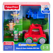 Fisher-Price Little People Share & Care Vehicle Gift Set