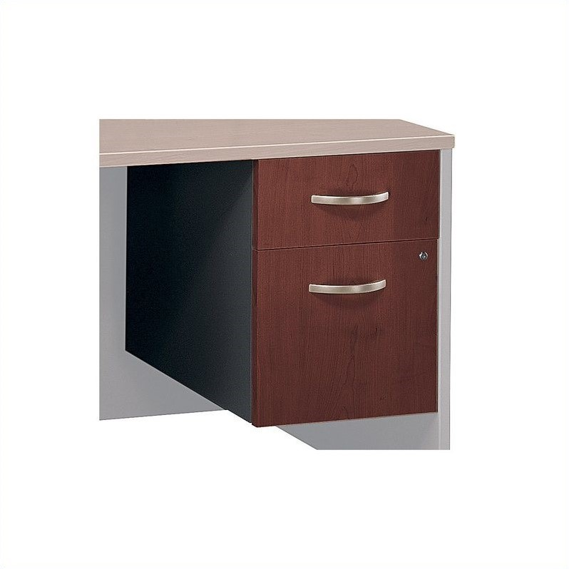 Bush Business Series C 2 Drawer Pedestal (Assembled) in Hansen Cherry - image 1 de 3
