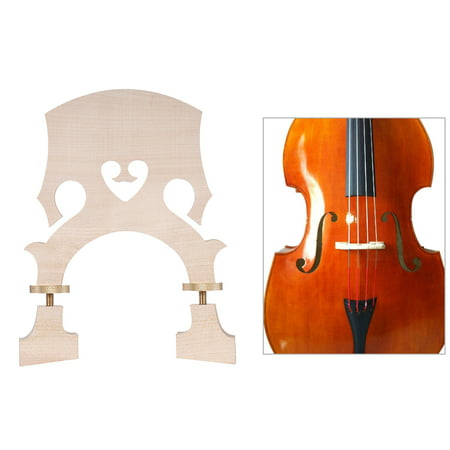 Standard Maple Replacement Part for 3/4 Size Double Bass Adjustable Upright Bass Maple Standard Bass