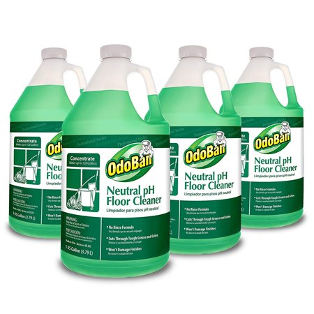 OdoBan Professional Series No Rinse Neutral pH Floor Cleaner Concentrate, 4 Gal 4  US - Rinse Concentrate