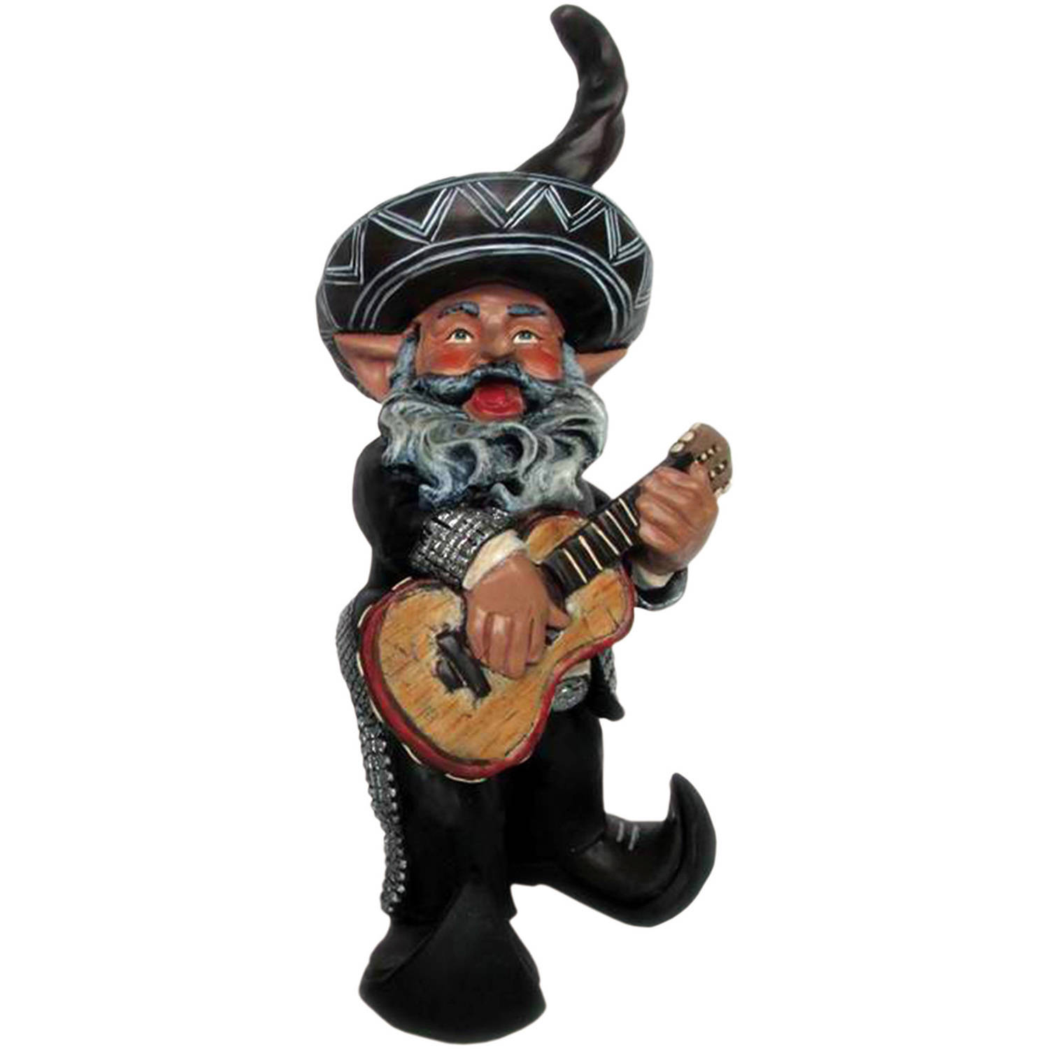 """Homestyles """"Mariachi the Gnome"""" Garden Gnome Playing His Guitar Figurine Statue,... by GSIHomeStyles"""