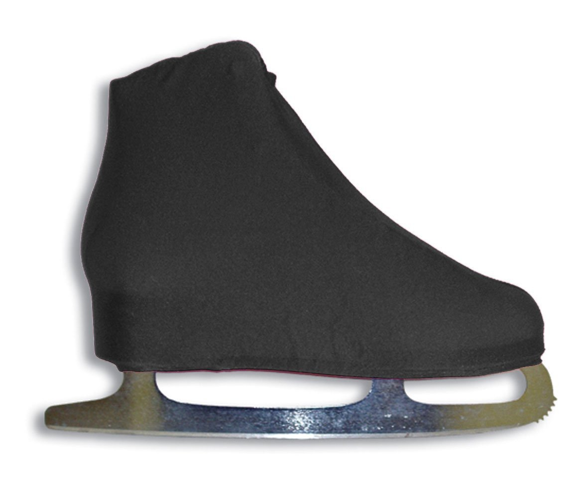 Lycra Ice Skate Boot Covers, Black, Available in Assorted Colors By A&R Sports by