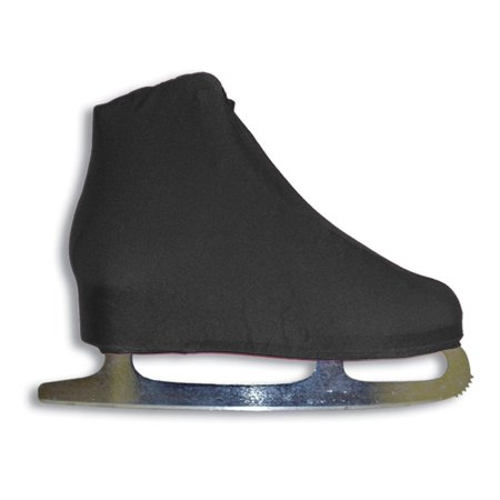 Lycra Ice Skate Boot Covers, Black, Available in Assorted Colors By A&R (Lycra Ice)