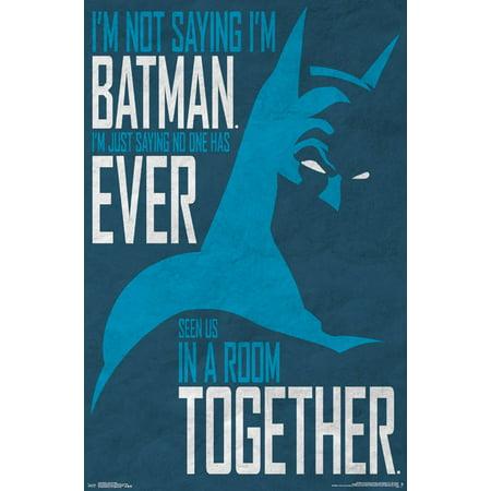 Trends International Batman Secret Identity Wall Poster 22.375