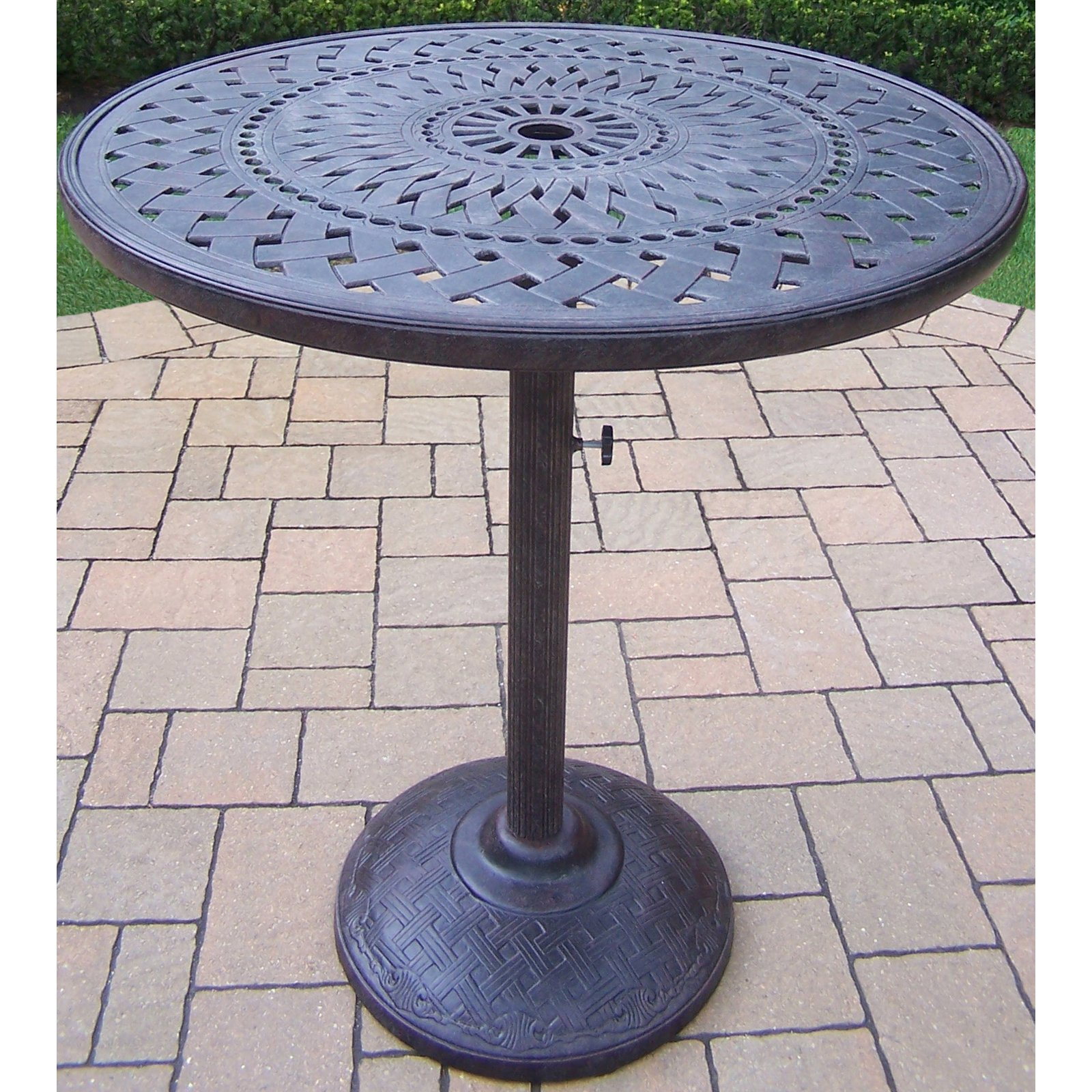Oakland Living Belmont 42 in. Round Bar Table