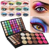 Tuscom 123 Color Cosmetic Matte Eyeshadow Cream Eye Shadow Makeup Palette Shimmer Set